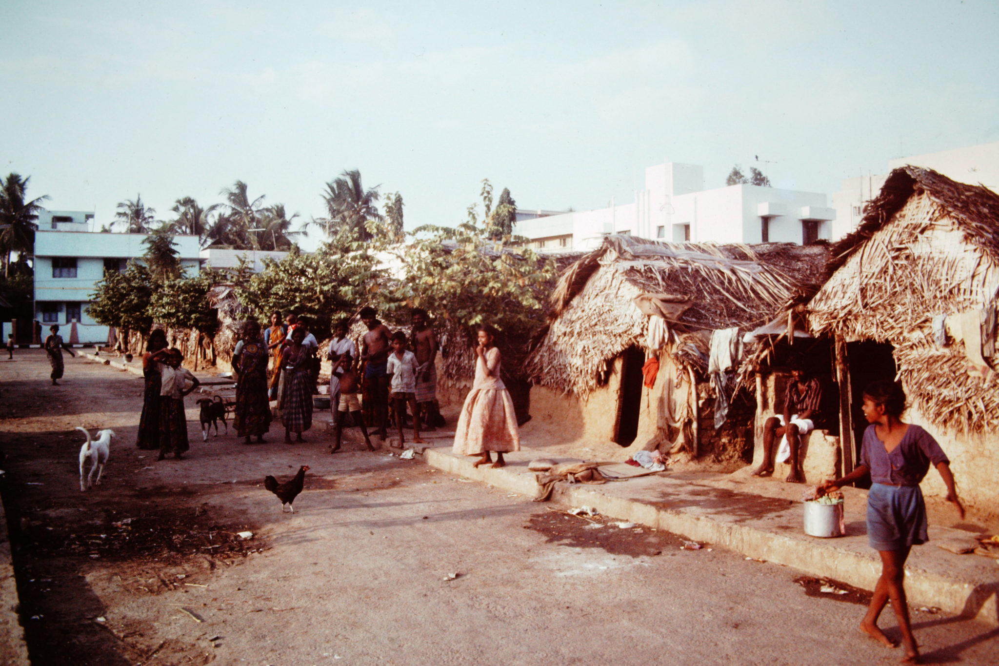 Chennai India in the 1980s