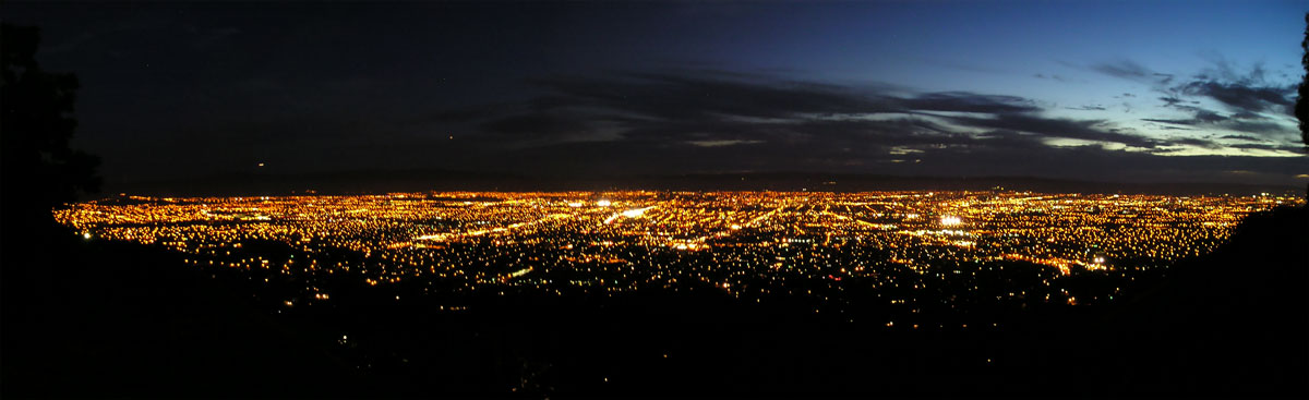 San Jose at night