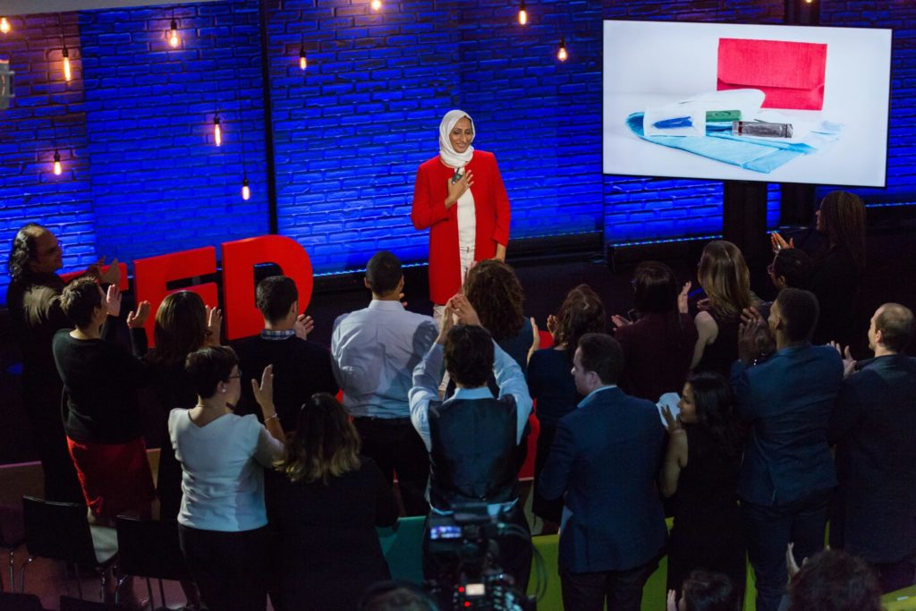 Zubaida Bai delivers TED Talk