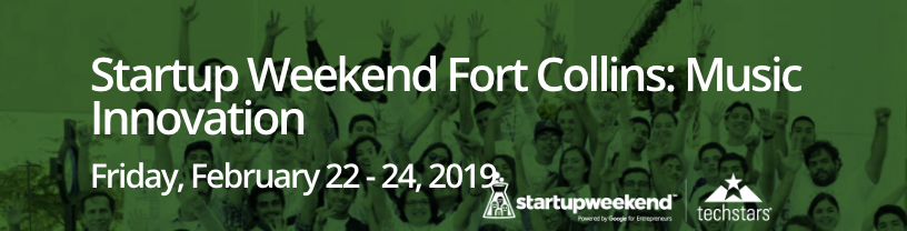 Startup Weekend Fort Collins: Music Innovation