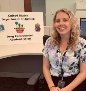 Brooke Bowman, DEA Intern