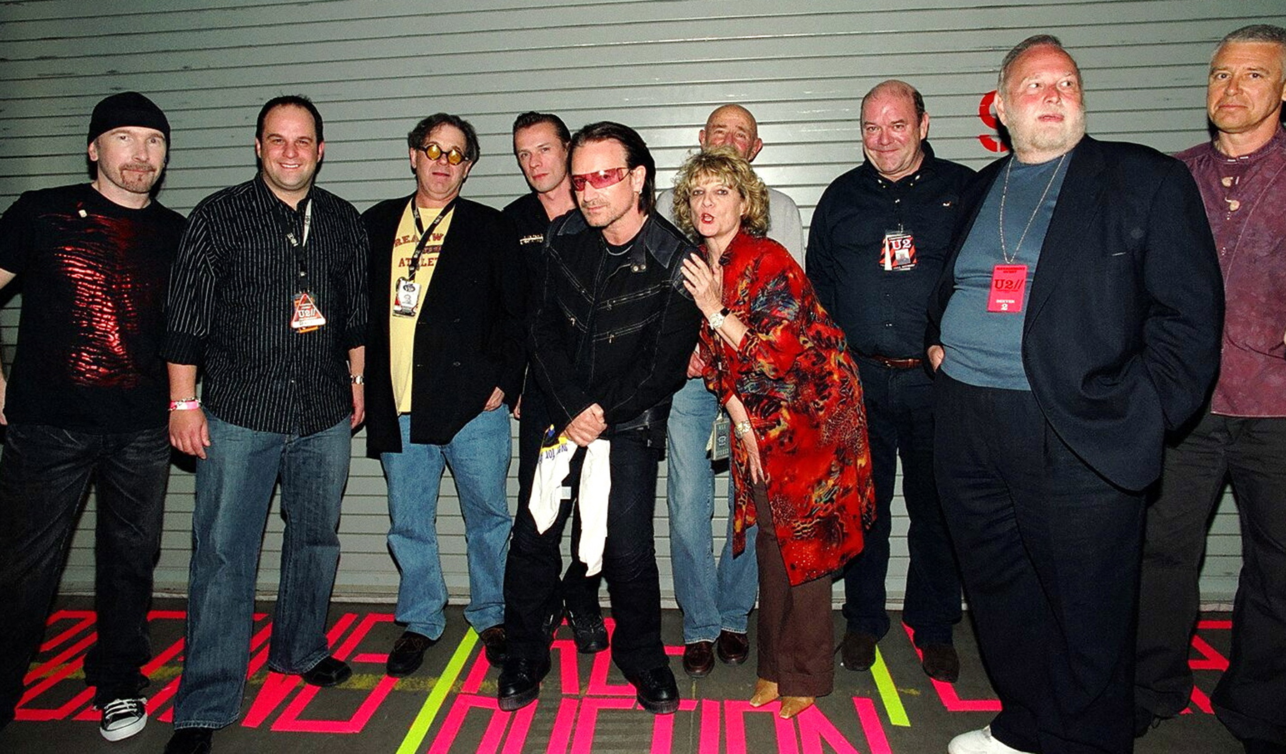 Chuck with U2