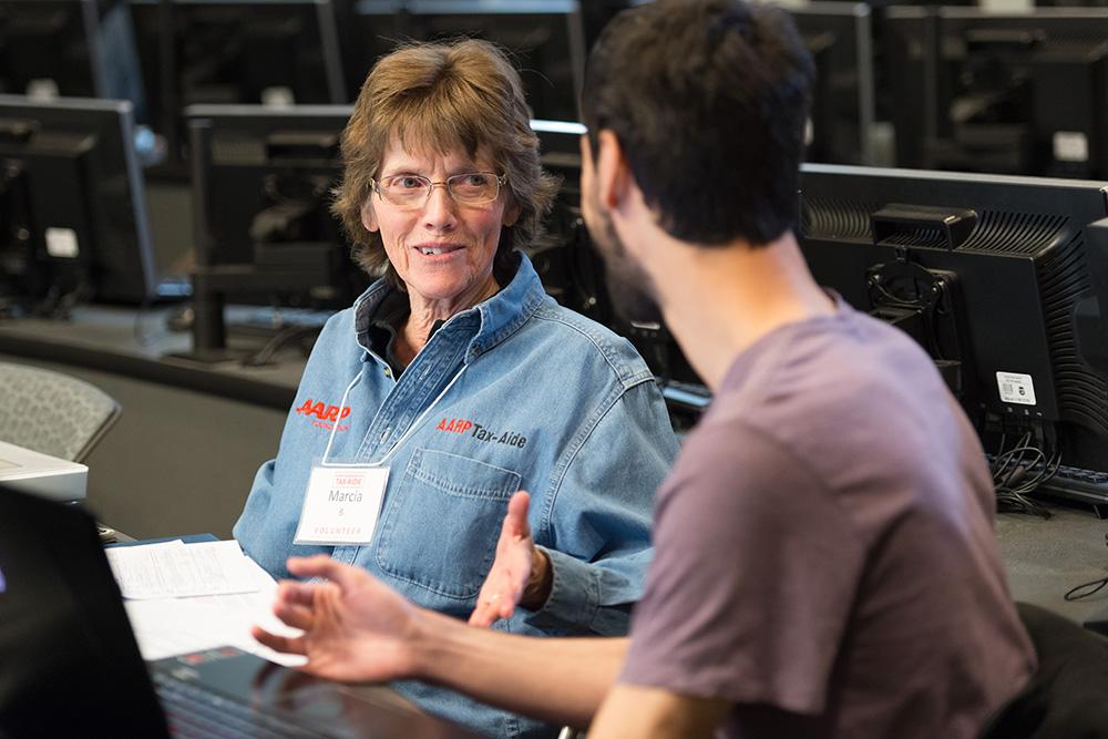 AARP Tax-Aide volunteers