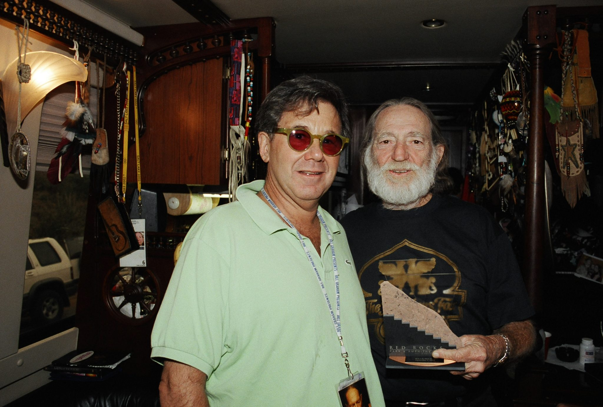 Chuck and Willie Nelson