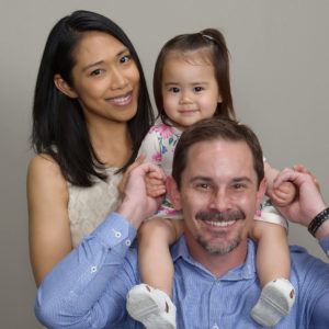 Jason Sellers and his family