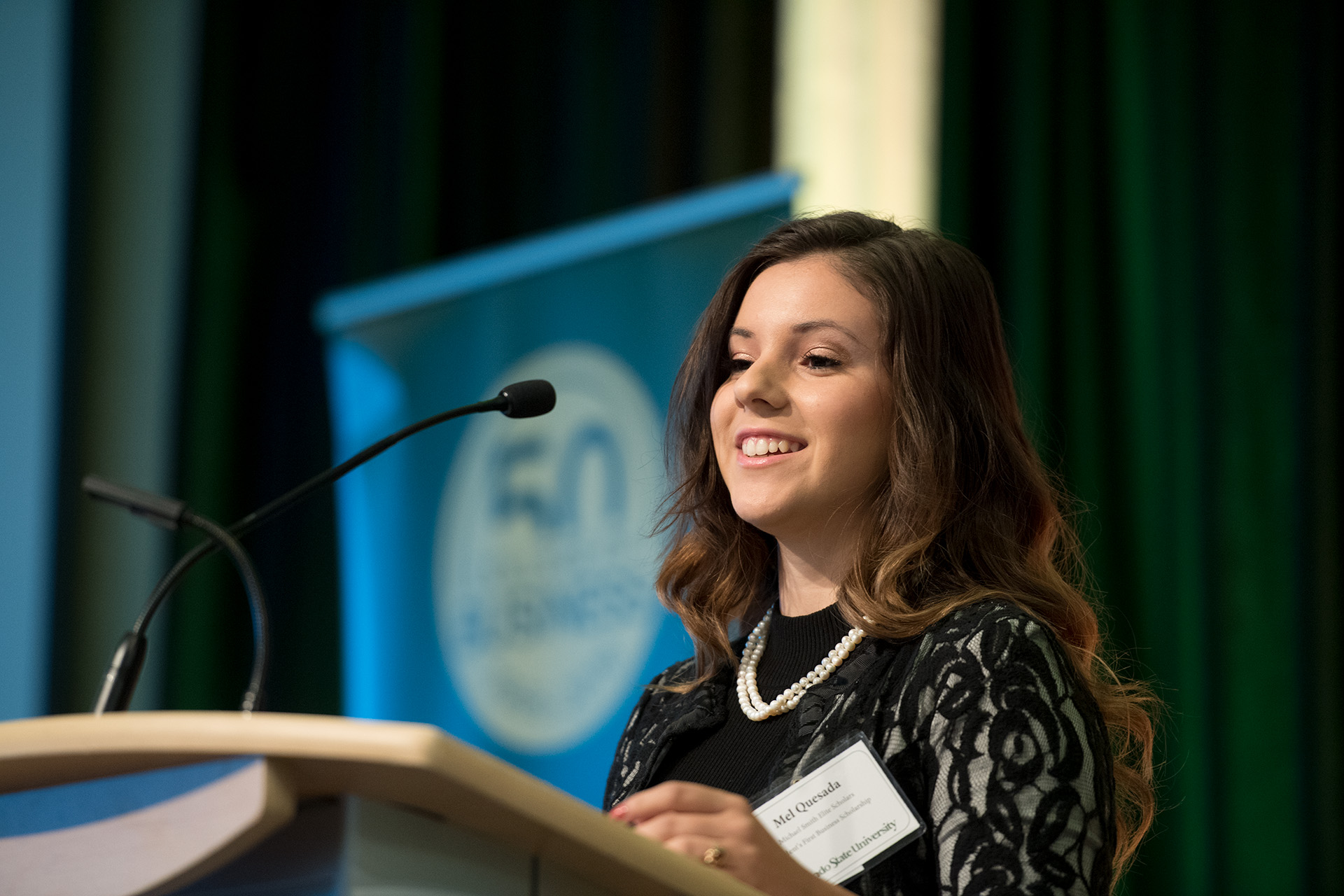 2016 College of Business Scholarship Luncheon, October 7, 2016