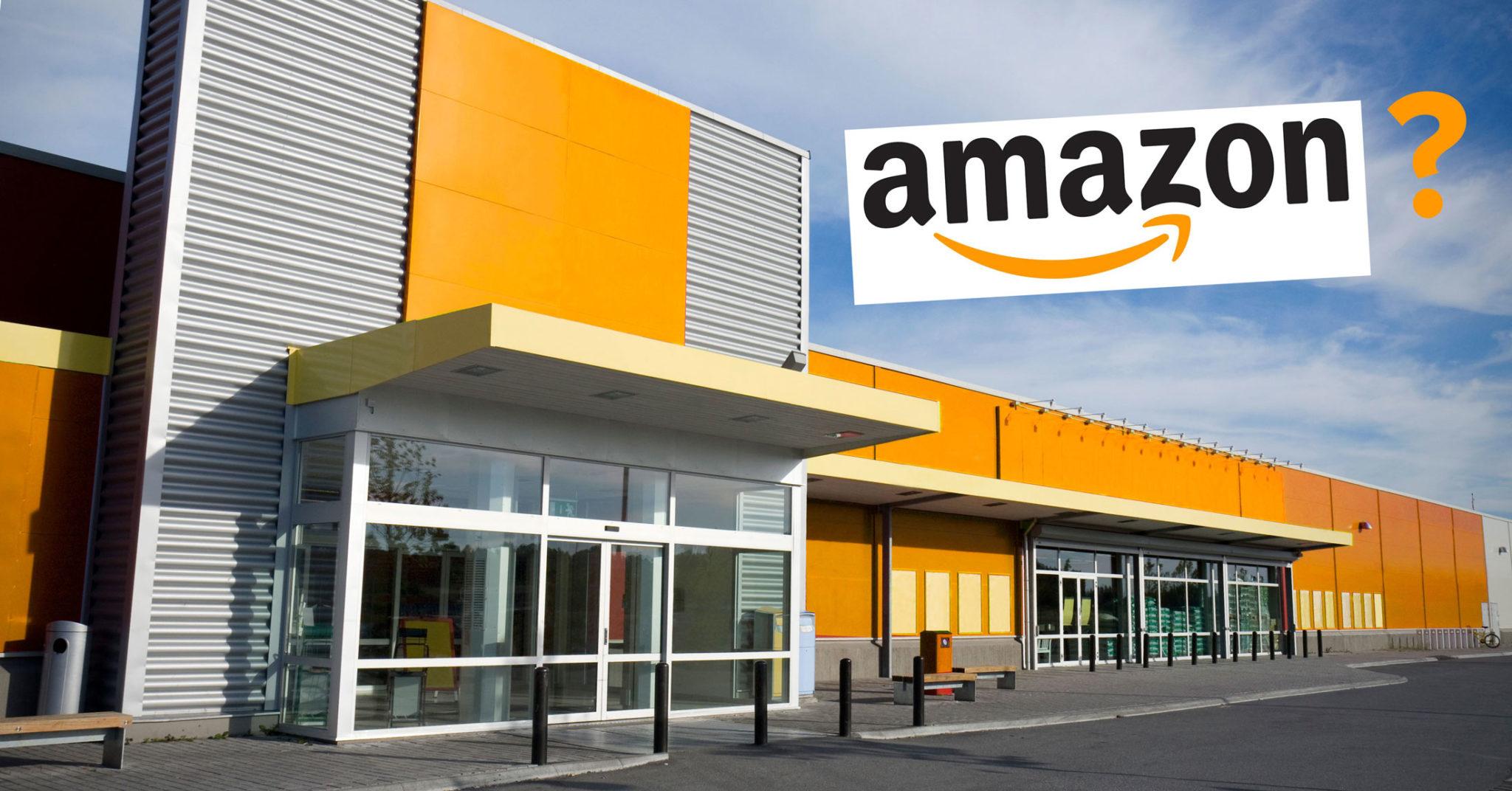 Amazon department store, concept illustration